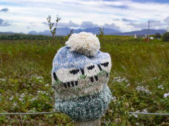 Hazy Sheep Bobble Hat