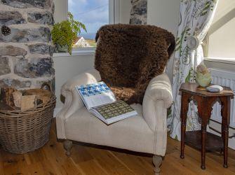 Mimosa Large Brown Highland Sheepskin Rug
