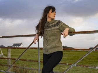 Traditional Cardigan in Melvin or O'Farrell