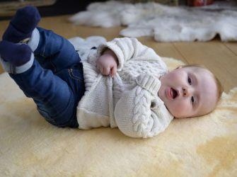 NURSE AID BABY SHEEPSKIN Medium 95 x 60cm
