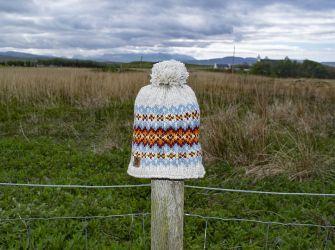 Shetland Beanie in Oatmeal