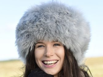 SNOW QUEEN HAT Long Wool Hat (Three Colours)