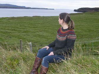 Stonybrek Sweater in Autumn Colours