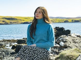 Fitted Turtle Neck Jumper in Utopia or Lugano