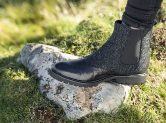 Harris Tweed Chelsea Boots  (UK 5-8) (choice of colours)