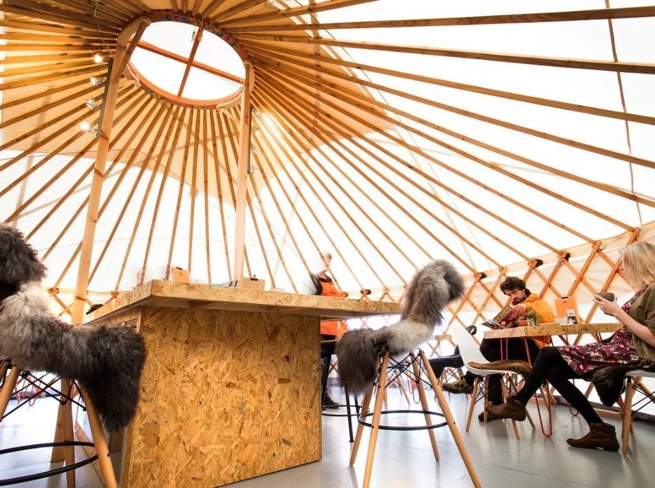 Yurt Table Booking