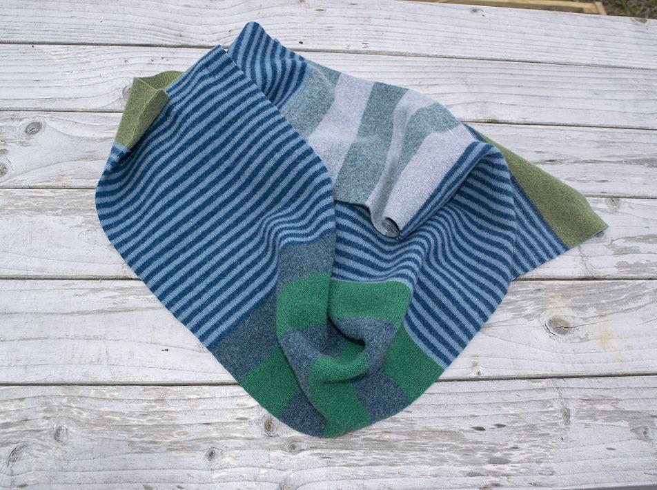 Alto scarf in kingfisher