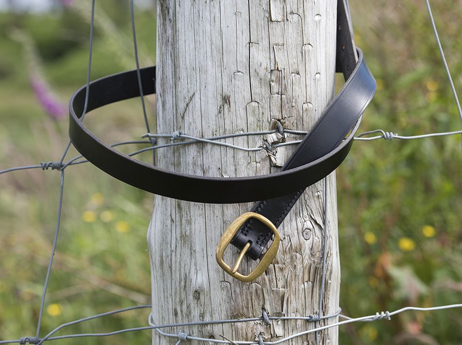 Handmade Leather Belt bkacj