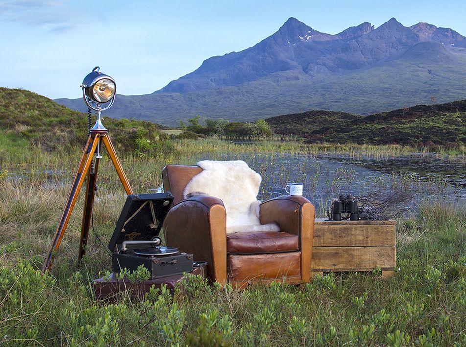 Cream Large Sheepskin Rug 105 x 66cm