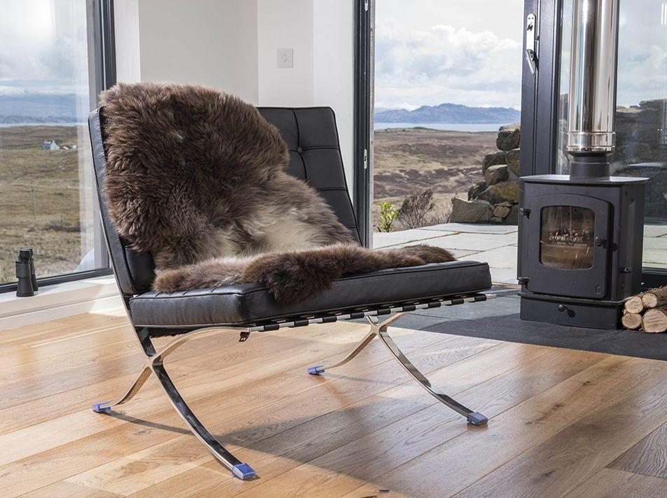 Donnetti Ruffer Medium Sheepskin Rug / Throw 95x60cms
