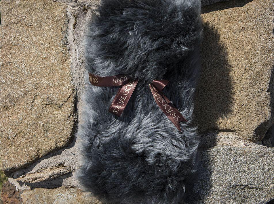 Small Sheepskin Snuggle - Grey