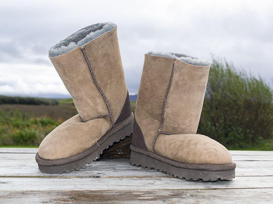 Celt Boot in Khaki size 3