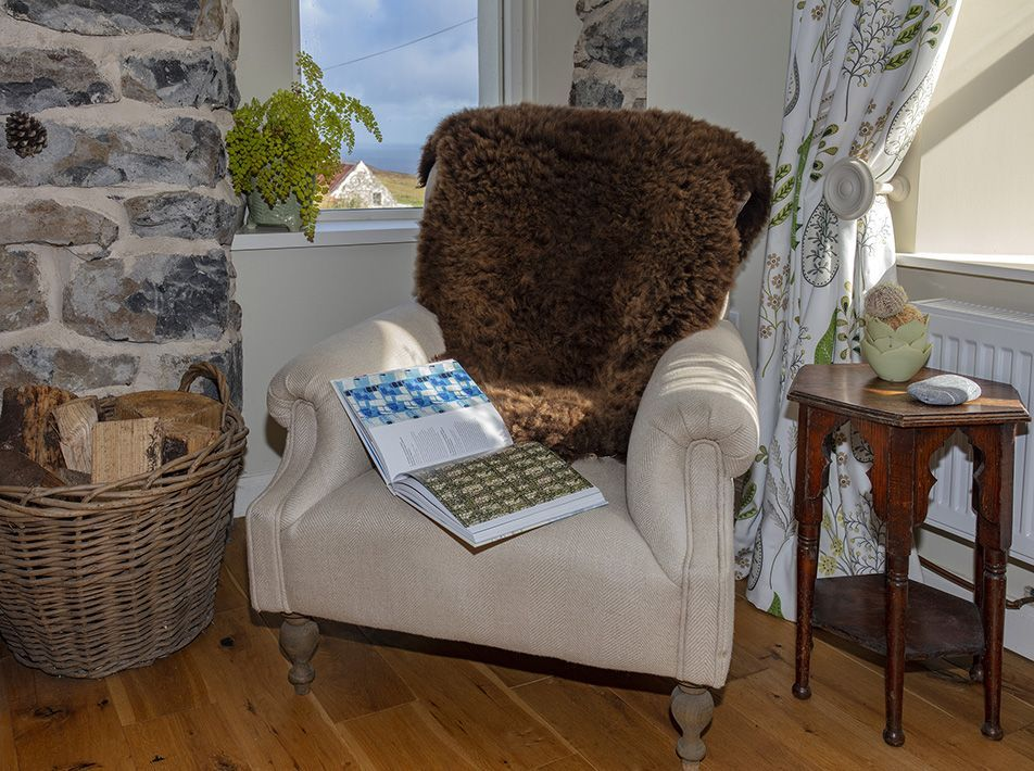Mimosa Large Brown Highland Sheepskin Rug