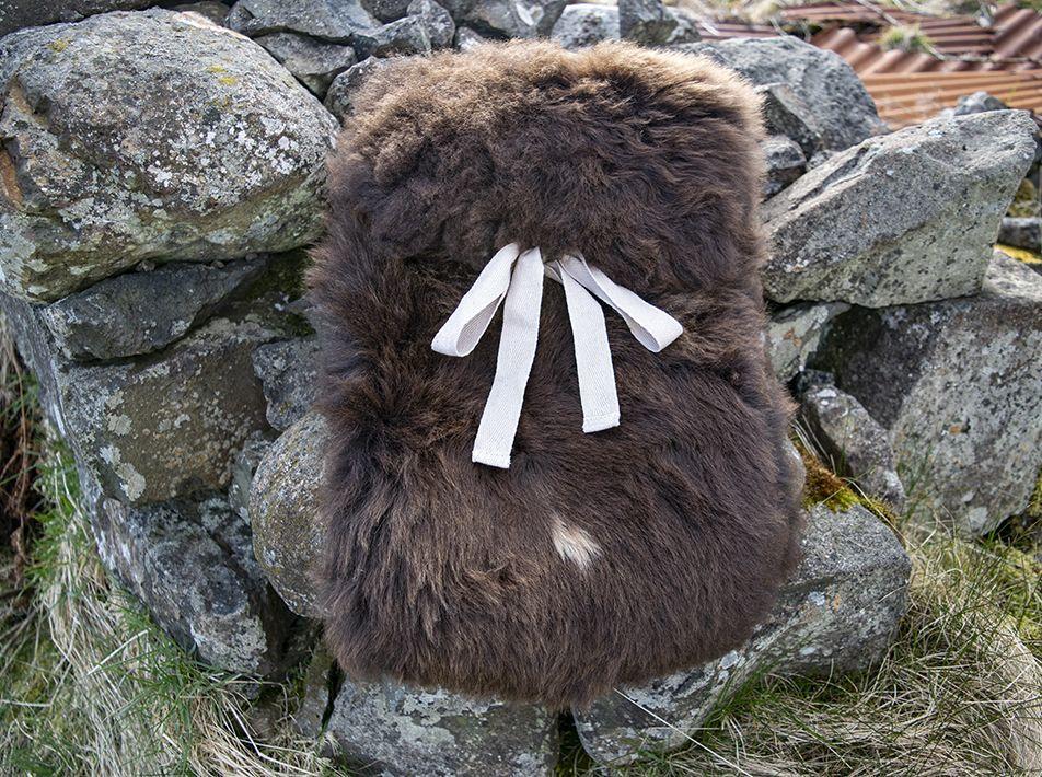 Large Sheepskin Snuggle - Brown