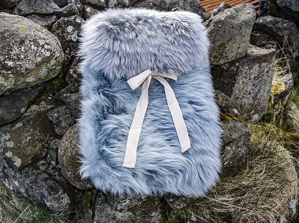 Large Sheepskin Snuggle - Grey