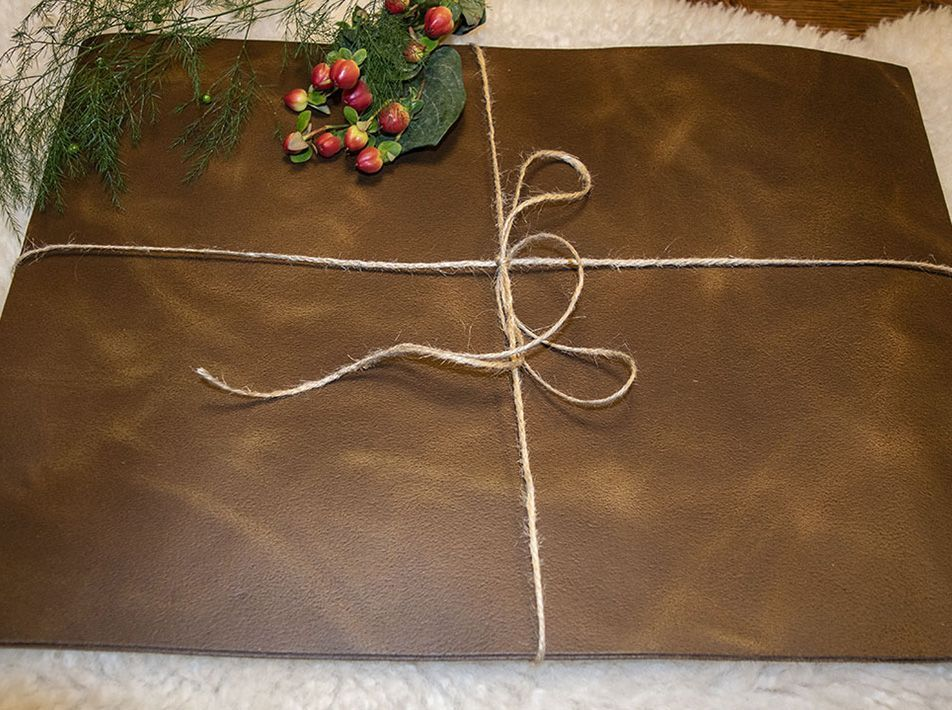 Large Leather Placemats - Pack of 2