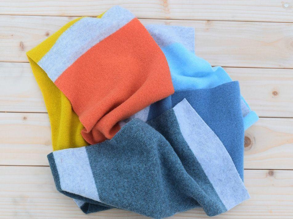 Palette Scarf mid-century colours