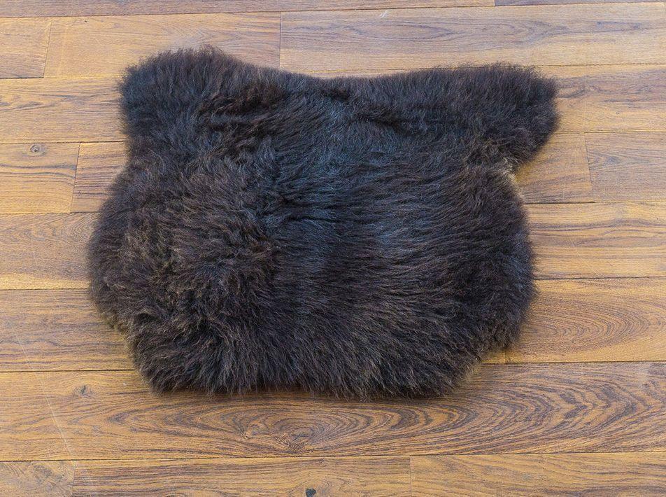 Medium Sheepskin Pet Mat in Brown