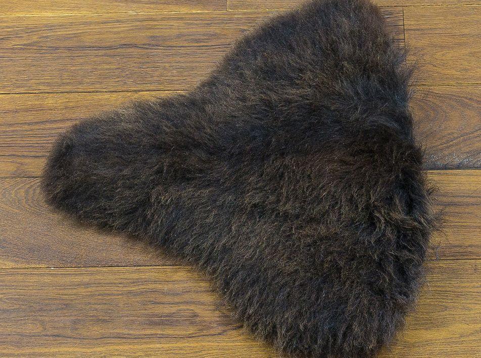 Small Sheepskin Pet Mat in Brown