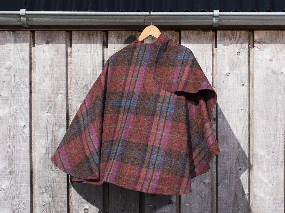 Short Lambswool Cape (choice of two colours)
