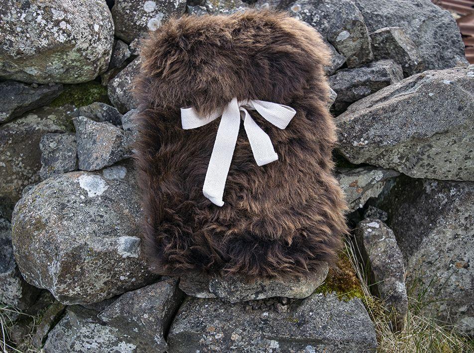 Small Sheepskin Snuggle - Brown