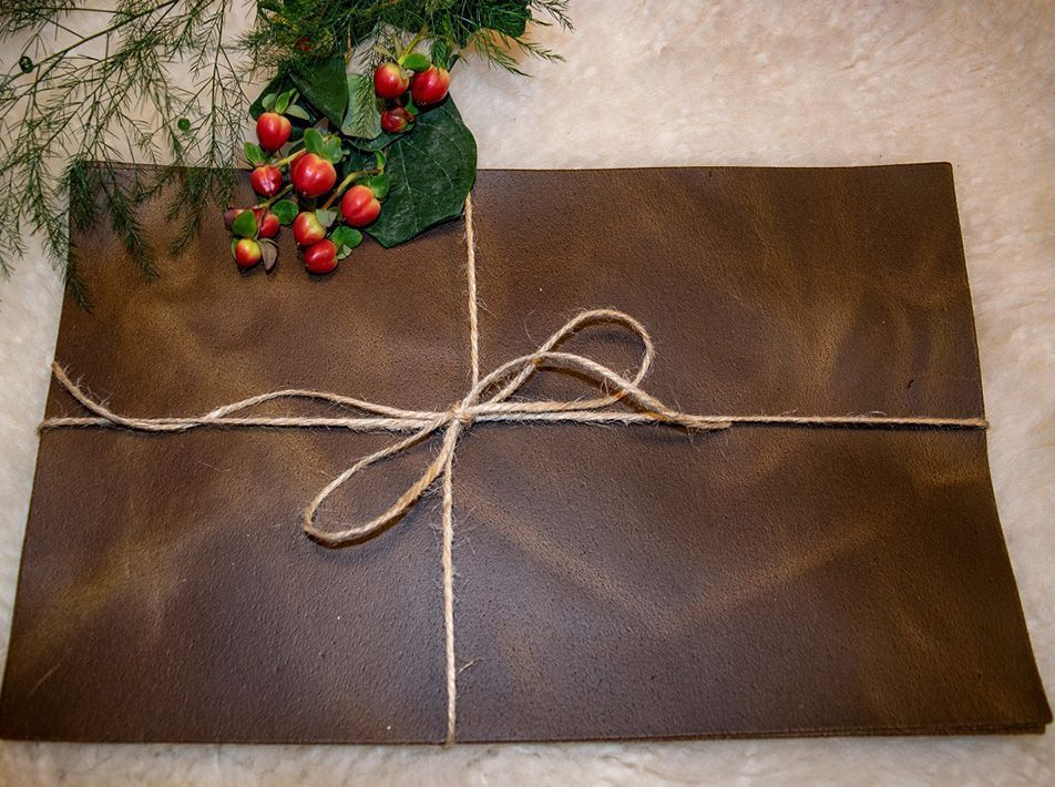 Small Leather Placemats - Pack of 2