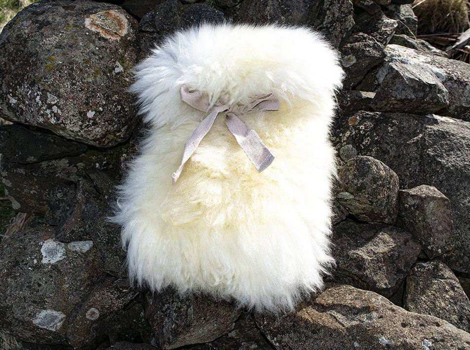 Small Sheepskin Snuggle - White