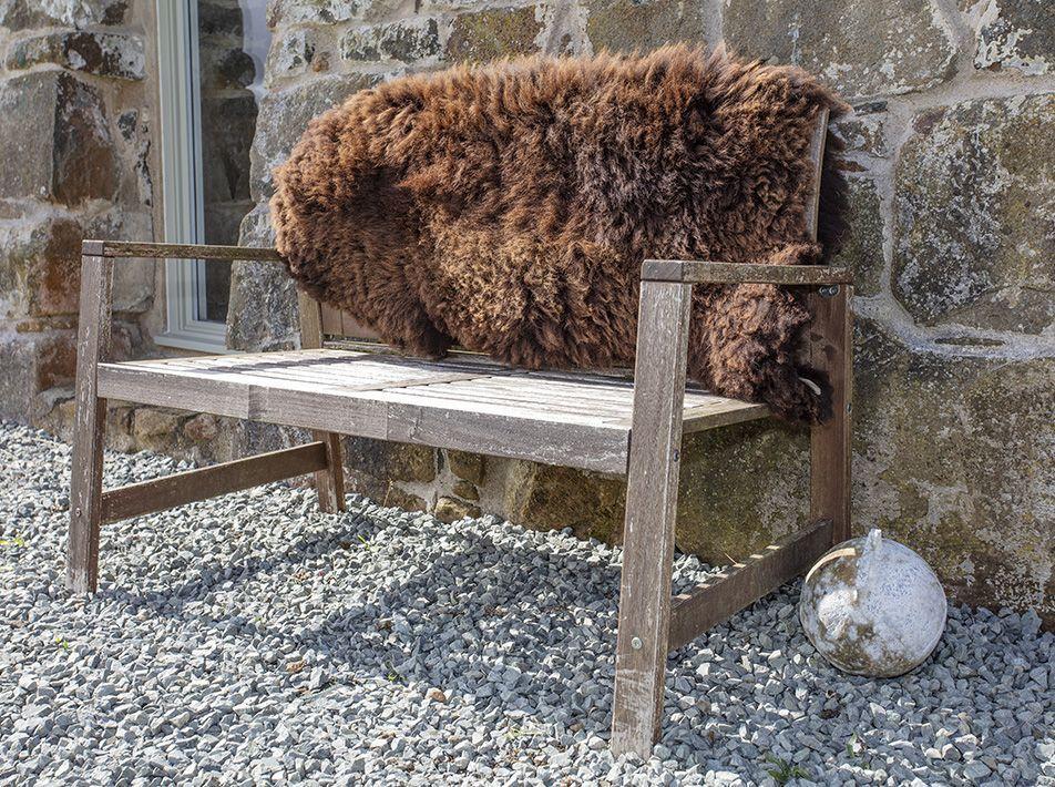 Mimosa Highland Special Sheepskin Rug - Brown