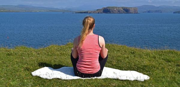 The Natural Option: Sheepskin Yoga Mats