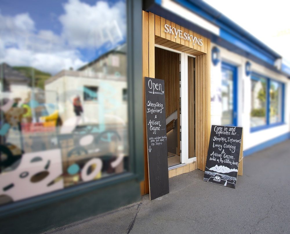 Our Portree Shop